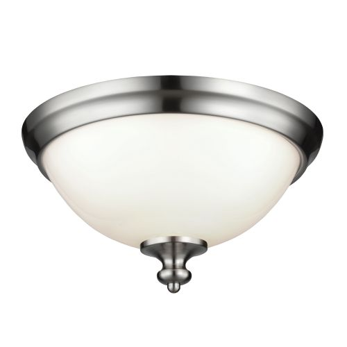 Feiss Parkman Flush Mount Polished Nickel FE/PARKMAN/F BS