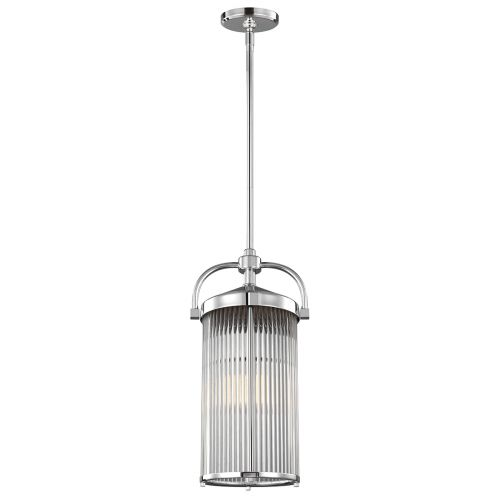 Feiss Paulson 3Lt Pendant Light Chrome FE/PAULSON/3P