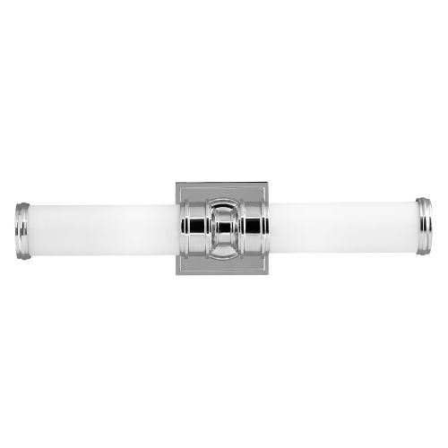 Feiss Payne 2 Light Wall Fitting FE/PAYNE2 BATH Polished Chrome