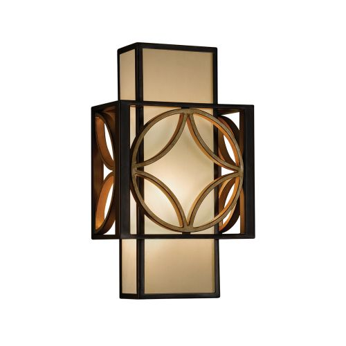 Feiss FE/REMY1 Remy 1Lt Heritage Bronze and Gold Wall Light
