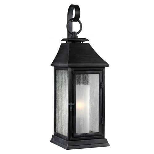 Feiss Shepherd Small Wall Lantern Dark Weathered Zinc ELS/FE/SHEPHERD/2S