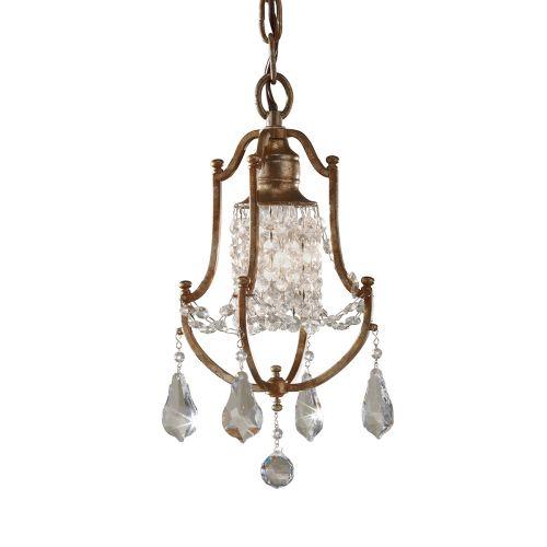 Feiss FE/VALENTINA/MP Valentina 1Lt Oxidised Bronze Mini Pendant Light