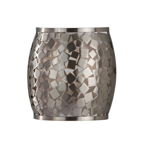 Feiss FE/ZARA1 Zara 1Lt Brushed Steel Wall Light