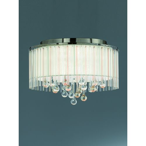 Franklite FL2345/6 Ambience 6Lt Semi-Flush Bronze Ceiling Light