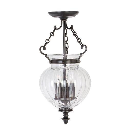 Elstead Finsbury Park Old Bronze 3 Light Indoor Lantern FP/P/S