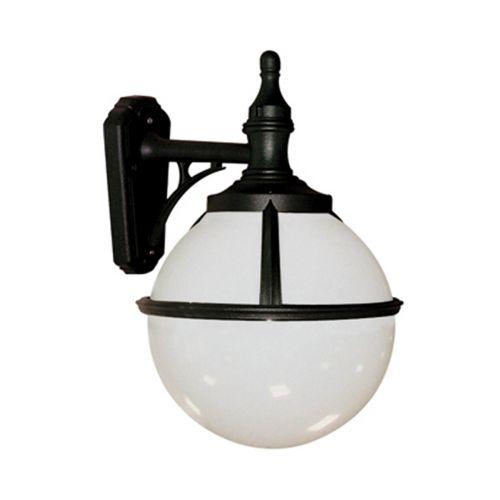 Elstead Glenbeigh Outdoor Wall Lantern Black Polymer