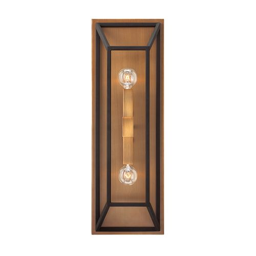 Hinkley HK/FULTON2 Fulton 2Lt Bronze Wall Light
