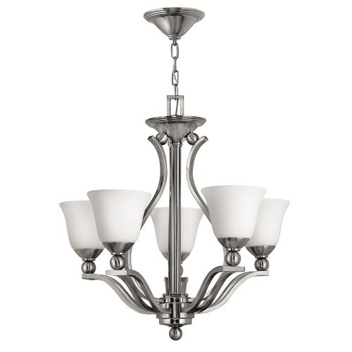 Hinkley Bolla 5Lt Brushed Nickel Ceiling Light HK/BOLLA5
