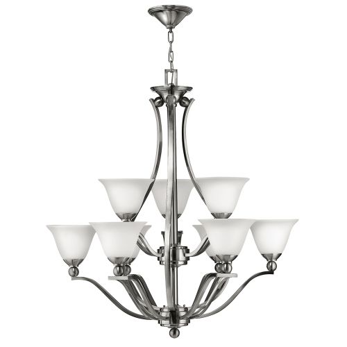 Hinkley Bolla 9Lt Brushed Nickel Ceiling Light HK/BOLLA9