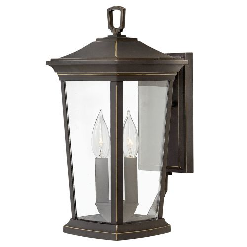 Hinkley Bromley HK/BROMLEY2/M 2Lt Oil Rubbed Bronze Outdoor Wall Lantern