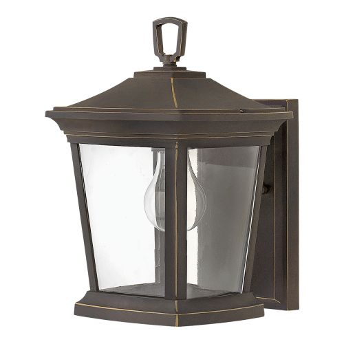 Hinkley HK/BROMLEY2/S Bromley 1Lt Oil Rubbed Bronze Outdoor Wall Lantern