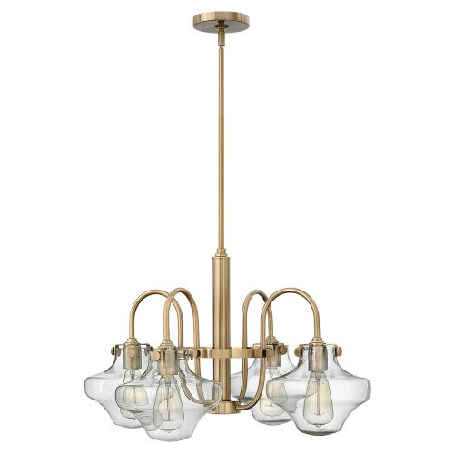 Hinkley HK/CONGRES4/B BC Congress 4Lt Brushed Caramel Ceiling Pendant