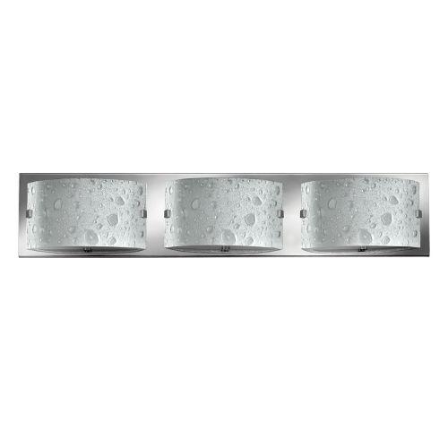 Hinkley Daphne 3lt Bathroom Wall Light Polished Chrome ELS/HK/DAPHNE3 BATH