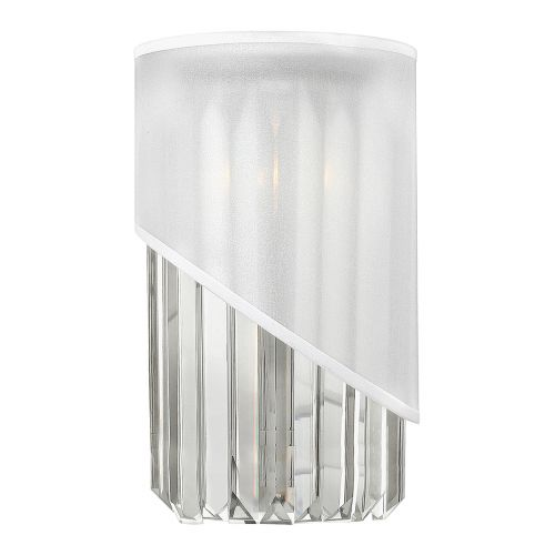 Hinkley HK/GIGI1 Gigi 1Lt Polished Nickel Wall Light