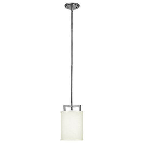 Hinkley Hampton Mini Pendant Cream Shade HK/HAMPTON/P/A