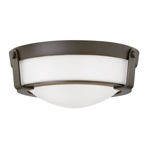 Hinkley HK/HATHAWAY/F/SB Hathaway 2Lt Old Bronze Flush Ceiling Light