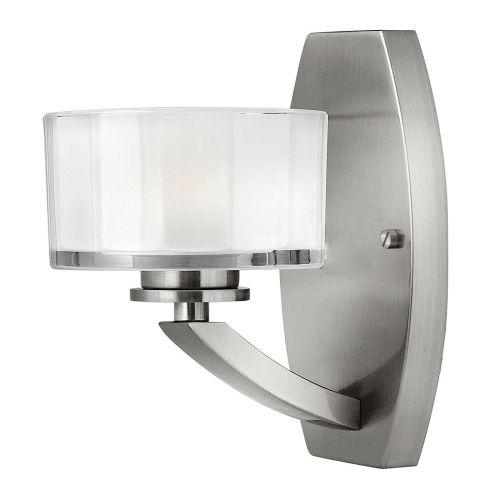 Hinkley Meridian Wall Light HK/MERIDIAN1 Brushed Nickel