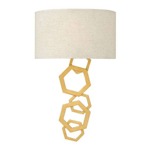 Hinkley Moxie 2Lt Wall Light Sunset Gold HK/MOXIE2 SSG
