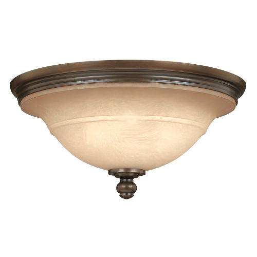 Hinkley HK/PLYMOUTH/F  Plymouth 3Lt Old Bronze Ceiling Flush