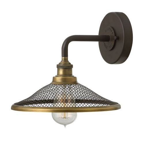 Hinkley HK/RIGBY1 KZ Rigby 1Lt Buckeye Bronze Wall Light