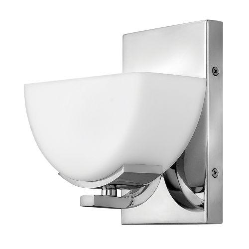 Hinkley Verve 1lt Bathroom Wall Light Polished Chrome ELS/HK/VERVE1 BATH