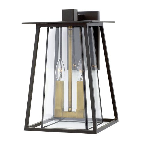 Hinkley HK/WALKER2/L Walker 2Lt Buckeye Bronze Large Outdoor Wall Lantern