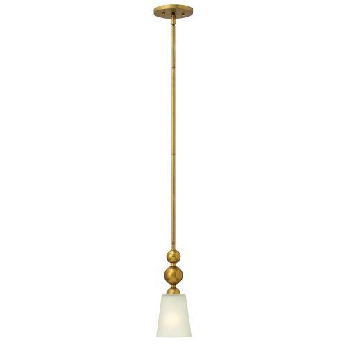 Hinkley Vintage Brass Pendant With Spherical Detail HK/ZELDA/P/A VS