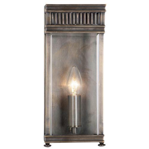 Elstead Holborn 1 Light Wall Lantern HL7/S DB Dark Bronze