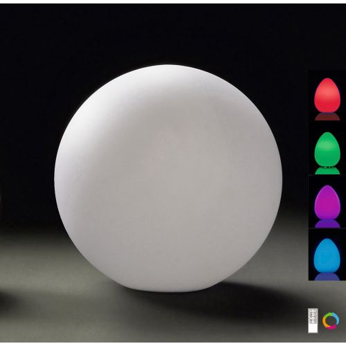 Mantra Huevo 1lt Outdoor Colour Changing Floor Table Lamp M1393