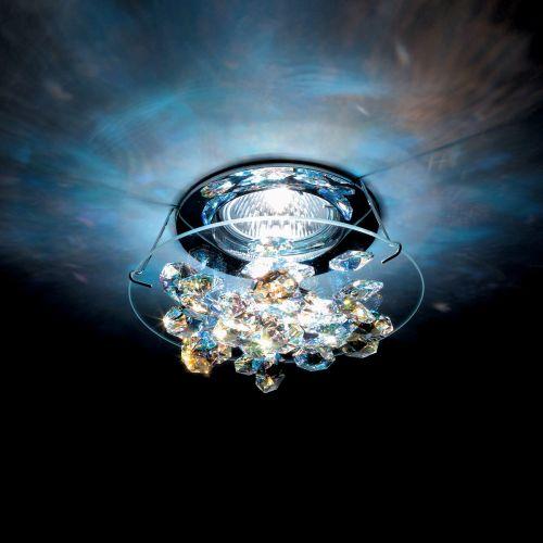 Swarovski Ice Recessed Chrome Aurora Borealis Crystals From Swarovski A8992NR020015