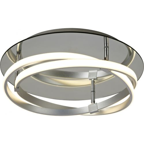 Mantra M5382 Infinity 1Lt LED Polished Chrome Flush Ceiling Light
