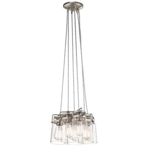 Kichler KL/BRINLEY6 NI Brinley 6Lt Brushed Nickel Pendant Light