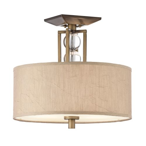 Kichler KL/CELESTIAL/SF Celestial 3lt Cambridge Bronze Ceiling Semi-Flush