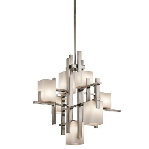 Kichler City Lights 7 Light Multi-Arm Fitting KL/CITY LIGHTS7A
