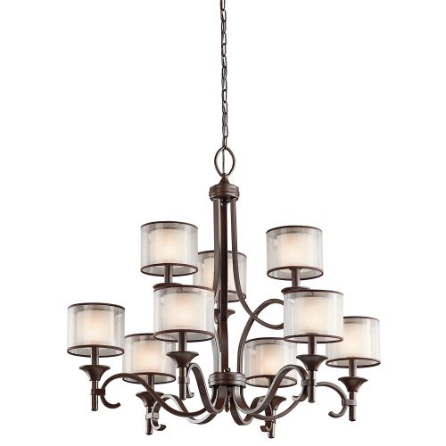 Kichler KL/LACEY9 MB Lacey 9Lt Mission Bronze Pendant Light