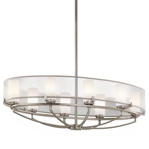 Kichler KL/SALDANA8 Saldana 8Lt Ceiling Light Classic Pewter