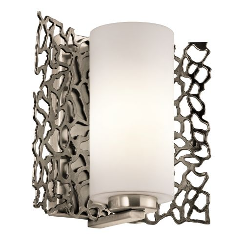 Kichler Silver Coral Wall Light KL/SILCORAL1