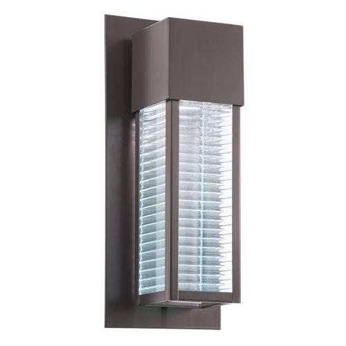 Kichler Sorel 1lt Outdoor Wall Light LED Architectural Bronze ELS/KL/SOREL2/M LED