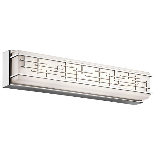 Kichler Zolon Large Linear Bathroom Wall Light Chrome ELS/KL/ZOLON/L BATH
