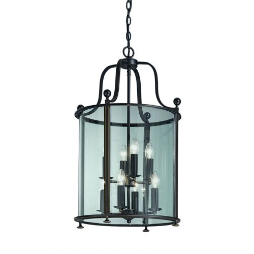 Franklite Pasillo 8 Light Bronze/Chrome Chandelier LA7001/8