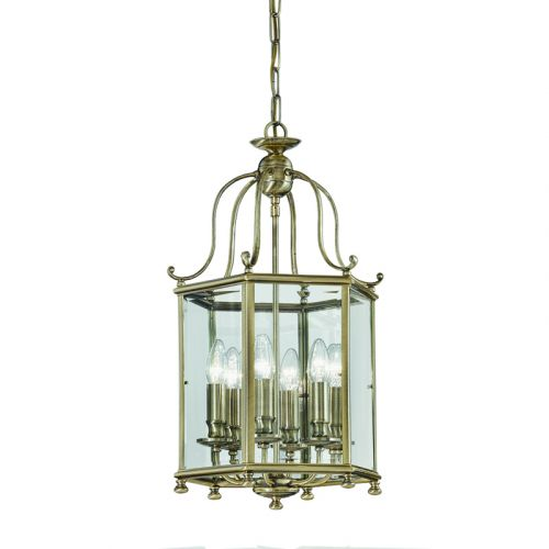 Franklite Montpelier Bronze Finish Traditional Indoor Lantern Large LA7007/6