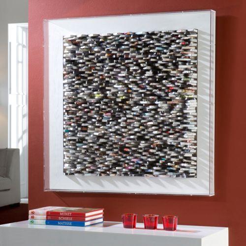 Schuller 924071 Lectura Book Wall Art White Frame