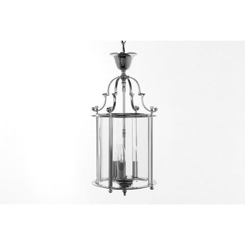Impex LG07000/09/CH Colchester 3Lt Chrome Ceiling Chain Indoor Lantern