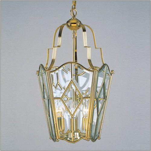 Impex LG56115/04 Alicante 4 Light Brass Indoor Lantern