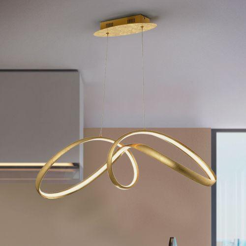 Schuller Lia 328326 LED Single Gold Leaf Pendant