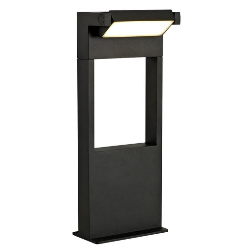 Lekki Lark Outdoor Short Post 10W LED 3000K 720lm IP54 Graphite Black LEK3158
