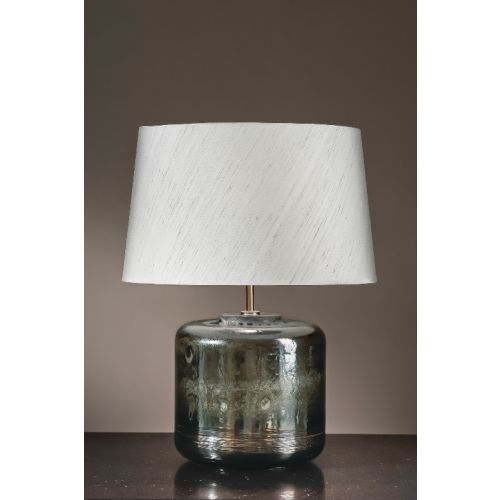 Elstead Columbus Tall Silver Table Lamp ELS/COLUMBUS/TL