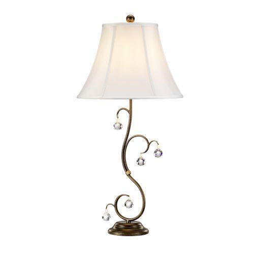 Elstead Lunetta 1 Light Bronze Table Lamp ELS/LUN/TL BRONZE