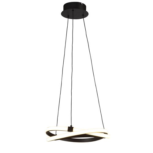 Mantra M5394 Infinity 1Lt LED Brown Oxide Pendant Ceiling Light