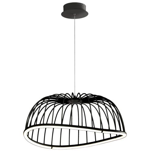 Mantra M6684 Celeste Medium Ceiling LED Black Pendant